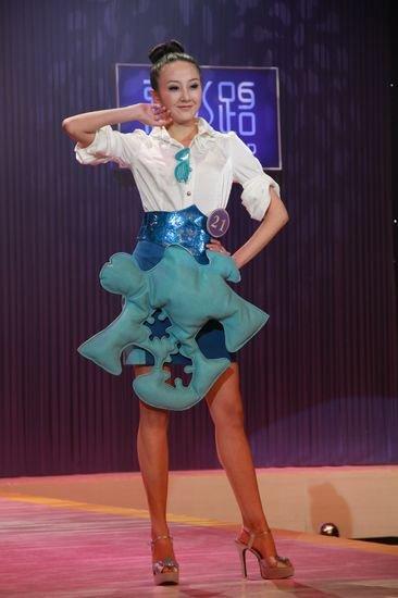 2010年第50届国际小姐大赛季军袁思怡(图)