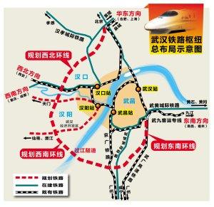 好消息:武汉—天门—荆门的高铁有戏!图片