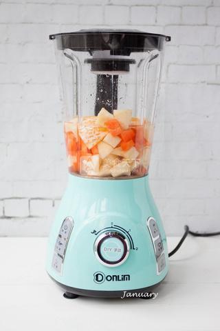 【消暑圣品】简易版蔬菜水果汁