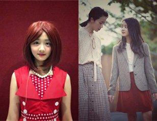 孙莉为多多化舞台剧妆容 红发造型全靠颜值撑