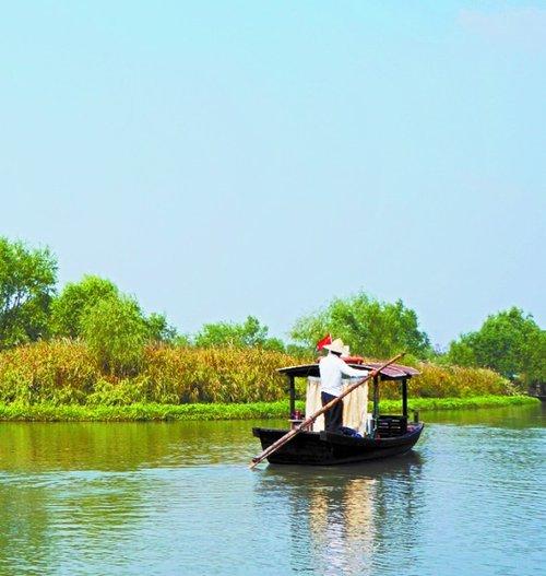 杭州西溪国家湿地公园. 徐江 摄-西溪国家湿地公园来青揽客