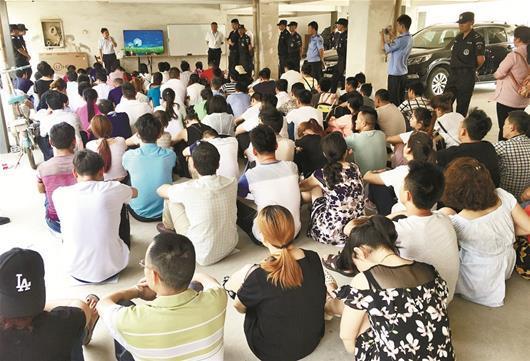 武汉集中开展清查传销行动 抓获175名涉嫌人员
