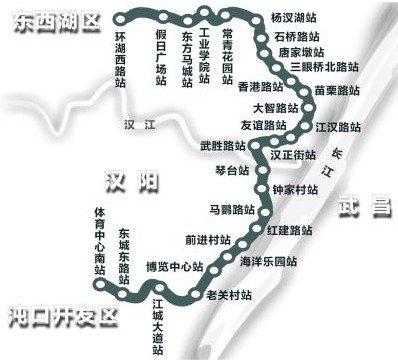 武汉地铁六号线汉口段开建 预计2016年底开通图片