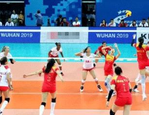 3:0!中国八一女排军运会首战告捷