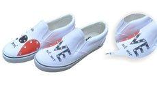 贝精灵原创手绘鞋