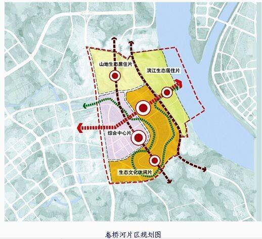 江南公园手绘地图