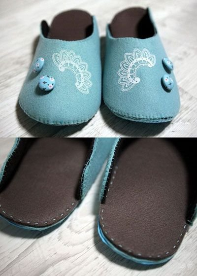 diy手绘白鞋图