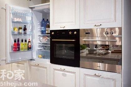 一体也瘦身4种面积厨房卷饼设计_家居厨房_建频道活动名片设计图片