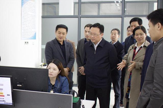 市长董卫民、副市长黄荆国来义乌商贸城指导工作