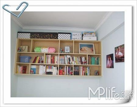 小户型室内装修设计 很值得你借鉴的案例:首先,我利用这个小房间没
