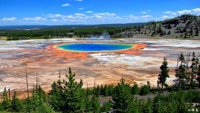 美国最大的温泉 每分钟涌出2000公升水