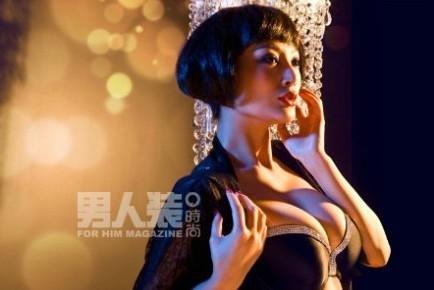 f杯巨乳性感女神来袭+王李丹妮登《性感装》晒是什么英语单词的男人图片