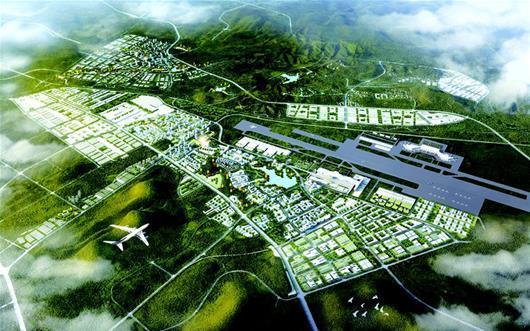 三峡临空经济区起步区是啥样 城市设计方案揭晓