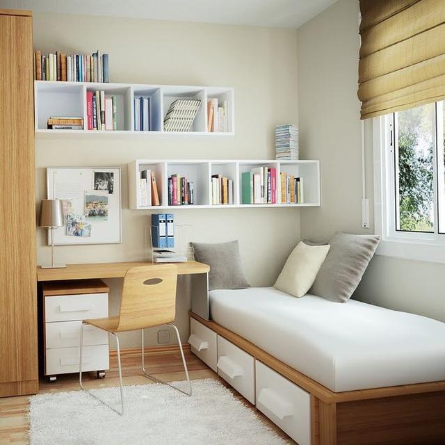 越来越多人装修不独立书房了!都流行这样装,实用好看!节省空间