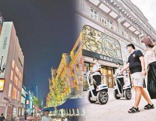 武汉江汉路步行街提档升级试开街