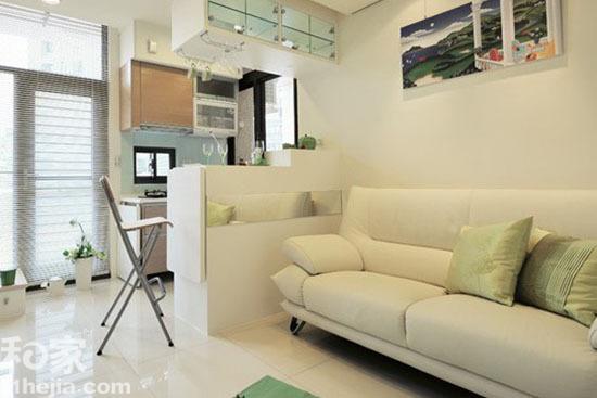 60平米的纯白世界 白领复式小公寓时尚设计图片