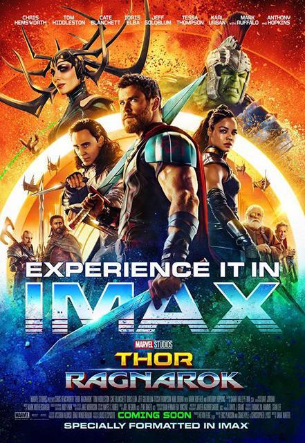 """IMAX版《雷神3》点映 """"女摩头""""凯特被呼亮眼"""