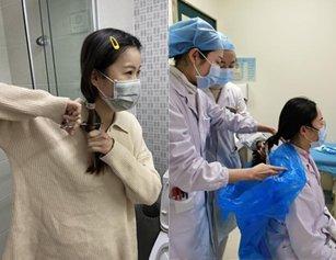 剪掉长发走上抗疫前线 这群护士让人心疼