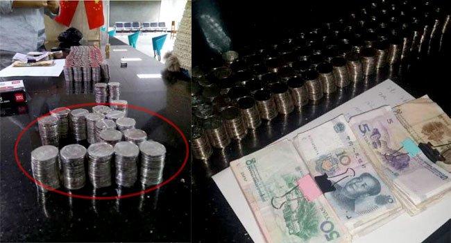组图:女子几经曲折拿到欠薪 看到钱的那一刻崩溃了