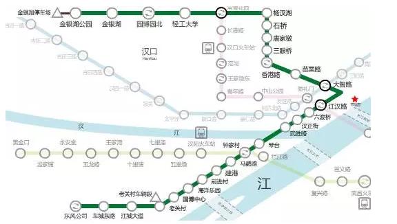 武汉各条地铁最新进展 修到你家门口了吗?图片