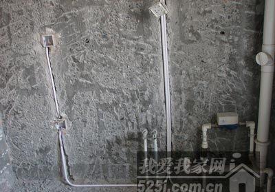 装修遗憾提前防 盘点几种不规范水电改造施工高清图片
