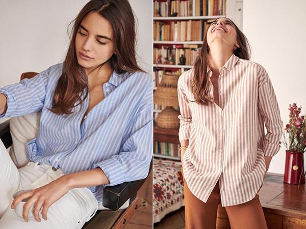 """开春最想买的 一定是这些又美又撩的""""衬衫"""""""