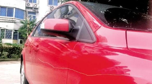 【图】车子被刮找不到肇事者想走保险要怎么弄? 朗... 汽车之家论坛