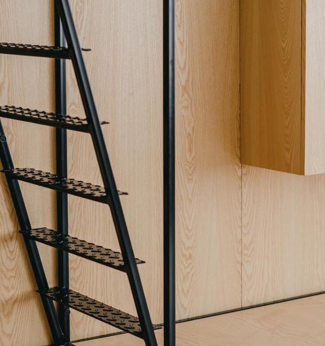 线条公寓:每一个角度都是一张黑白钢笔画