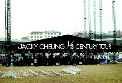 张学友宜昌演唱会亿元打造舞台 将唱足200分钟