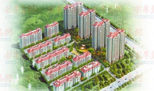 小区为简欧式建筑风格的花园小区,规划有多层,高层,花园洋房等多