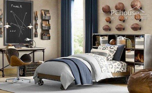 欧式男孩卧室设计 享童年乐趣