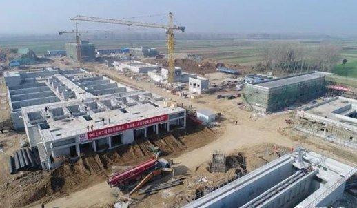 襄阳又一重点项目主体工程完工 明年5月投入使用