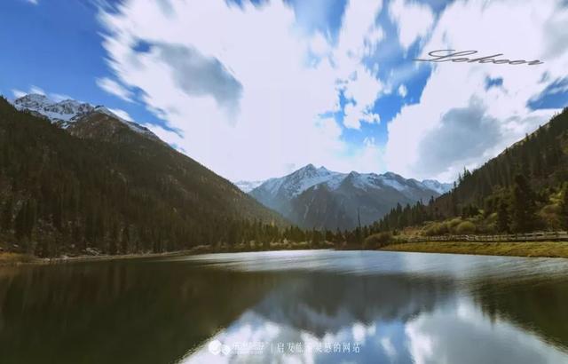 边赏彩林边看冰山 这里还能帮你快速测试是否高反