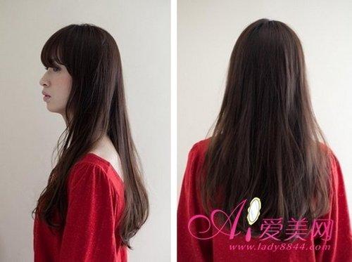 最能展现女生的可爱了,同时长长的头发加上微卷的造型,女生的温婉加上图片