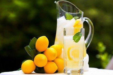 早上喝溫熱檸檬水助減肥_大楚網_騰訊網