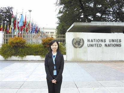 """武汉才女走进联合国 """"感谢父母从不逼我培优"""""""