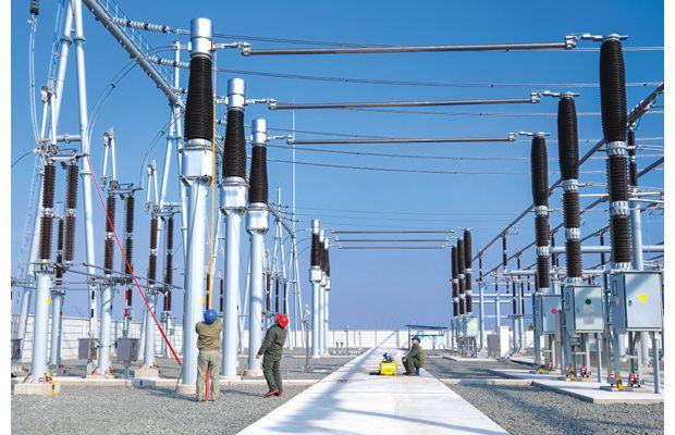 随州市首座500千伏变电站计量装置进行校验