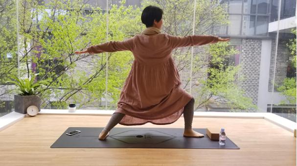 瑜伽成绩心灵之美 隐舍瑜伽馆品牌宣布