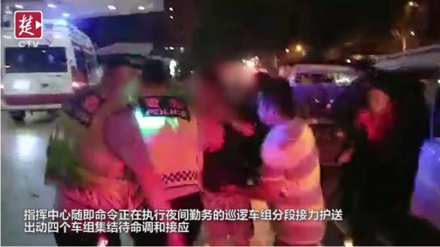 妇女田间被毒蛇咬伤昏迷 三台警车接力护送就医