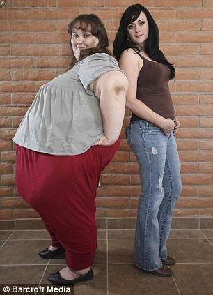 世界最胖美女!体重破700公斤还想增重_旅游频