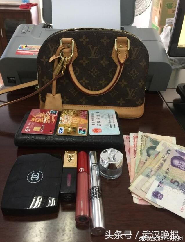 女子遗失LV拎包Gucci钱包 幸遇好心的哥捡到归还