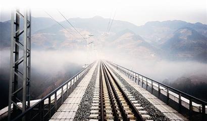 宜万铁路即开通 桥隧博物馆纵览鄂西风光(图)
