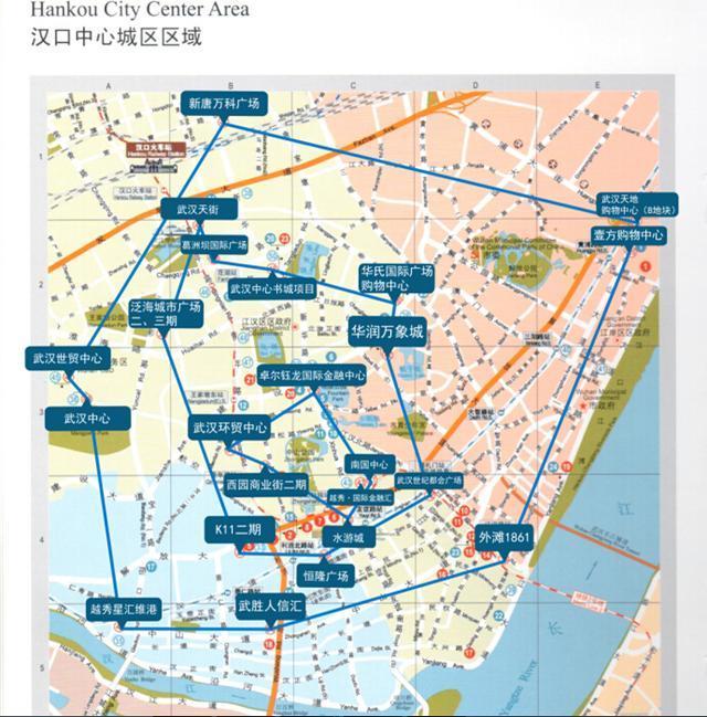 武汉市汉阳地图展示图片