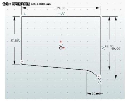 欧式墙面线条造型cad