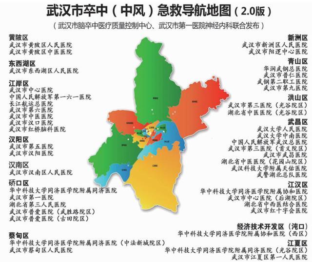 """武汉54家医院加盟""""卒中黄金急救圈"""" 与时间赛跑"""