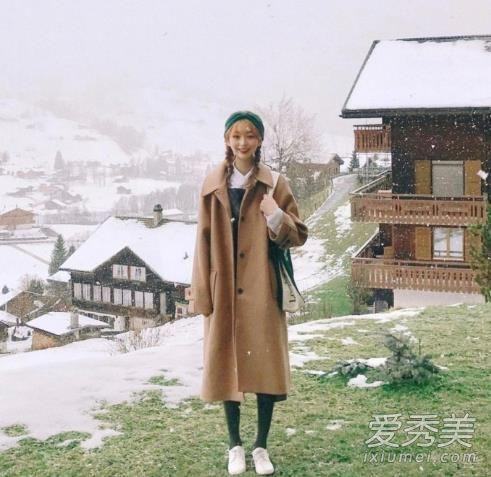富有层次感的冬季少女穿搭 小个子女生也能驾驭