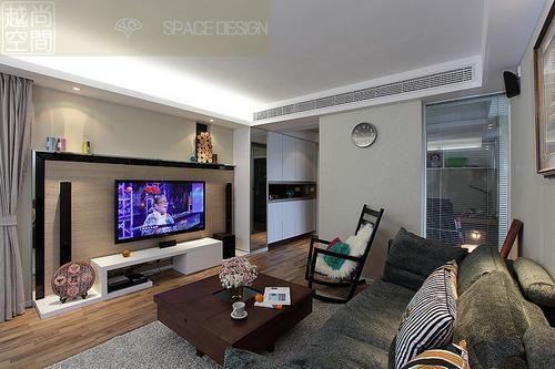超美90平三房两厅设计 现代简约风格小户生活