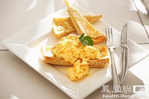 炒鸡蛋时加这2物v斗士斗士无比美味街头美食日本图片