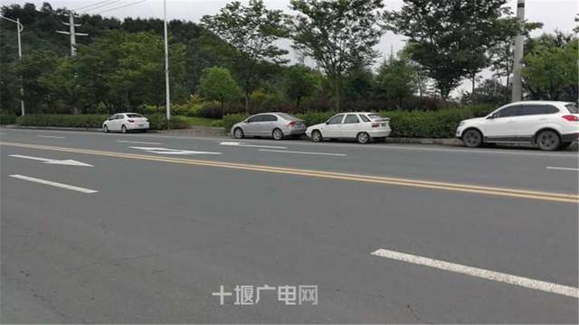 十堰司机速看!这条路不能停车 违停要吃罚单了