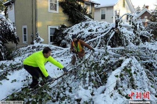 美国暴风雪天气继续肆虐 已造成至少19人死亡
